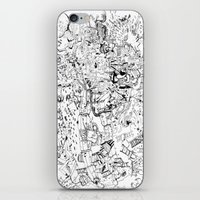 Fragments of dream iPhone & iPod Skin