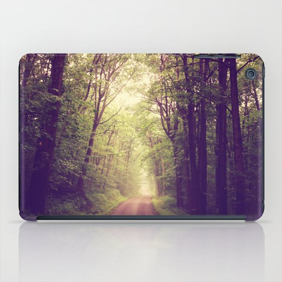 The Sound of Fog Coming Down iPad Case