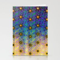Star Pattern 2 Stationery Cards