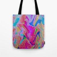 Tapestry Wave Tote Bag