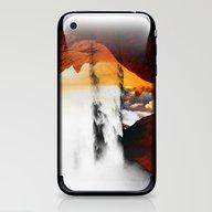 Isolation Fall iPhone & iPod Skin