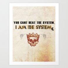 The System Art Print