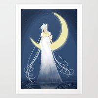 Moon Princess Art Print