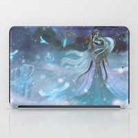 Lady Winter iPad Case