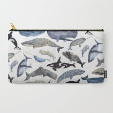 Whale Song Carry-All Pouch