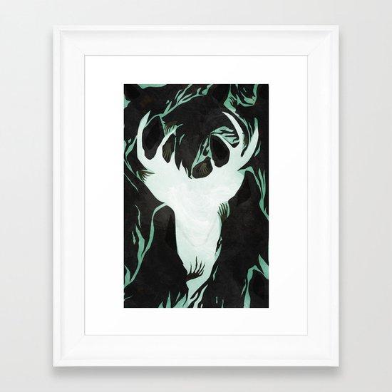 Patronus Framed Art Print