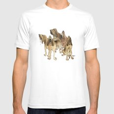 Hounds SMALL Mens Fitted Tee White
