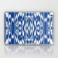 Ikat: Nautical Blue  Laptop & iPad Skin