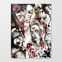 Degeneration. Canvas Print