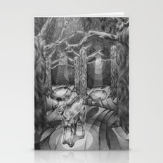 Alone In The Woods Stationery Cards