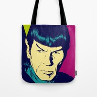 Spock Logic Tote Bag