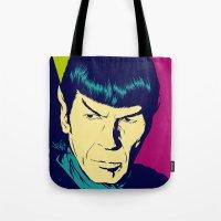 Spock Logic Tote Bag