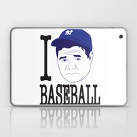 I __ Baseball Laptop & iPad Skin