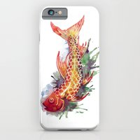 iPhone & iPod Case featuring Fish Splash by Sam Nagel
