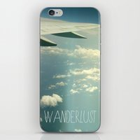 Wanderlust Airplane iPhone & iPod Skin