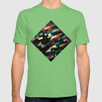 Retro Mens Fitted Tee Grass SMALL