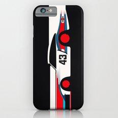 Moby Dick - Vintage Porsche 935/70 Le Mans Race Car iPhone 6 Slim Case