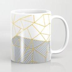 Ab Half and Half Grey Mug