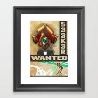 533K3R Framed Art Print