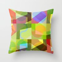 Colorful Truth. Shuffle … Throw Pillow