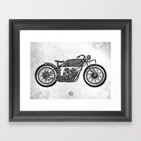 Power Styled Framed Art Print