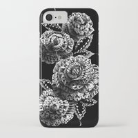 roses iPhone & iPod Cases featuring Four Roses by BIOWORKZ