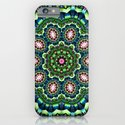 Mystical Lily Pond Mandala iPhone & iPod Case