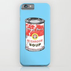 Mario Bro's Mushroom soup iPhone 6s Slim Case