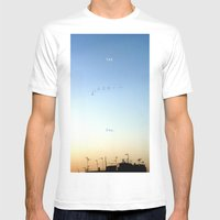 The Flight Mens Fitted Tee White SMALL