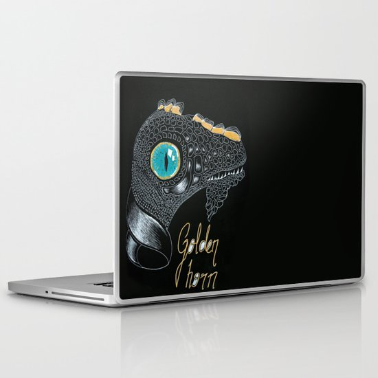 Golden Horn Laptop & iPad Skin