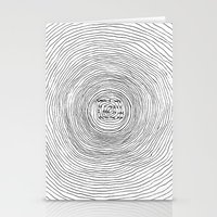 fell in love with the sun Stationery Cards