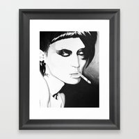 You Need To Stop Talking Framed Art Print