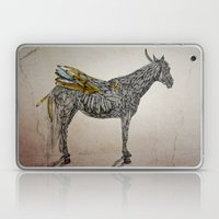 Feather Horse  Laptop & iPad Skin