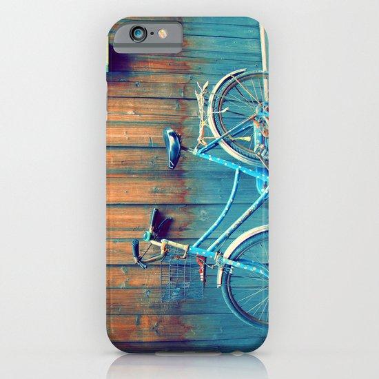 A Polka Dotted Bike iPhone & iPod Case