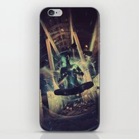 Power Trip iPhone & iPod Skin