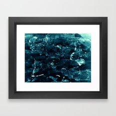 Gelid Framed Art Print