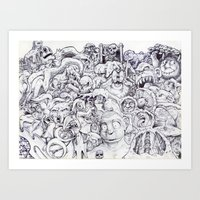 Where's Waldo? Art Print