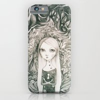 iPhone & iPod Case featuring keyhole in the jungle by mloyan