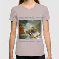 Poor William Womens Fitted Tee Cinder SMALL