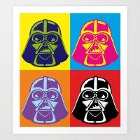 Darth Vader - Pop Art - … Art Print