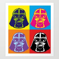 Darth Vader - Pop Art - … Art Print