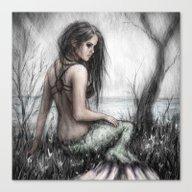 Mermaid's Rest Canvas Print