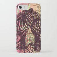 zebra iPhone & iPod Cases featuring ZEBRA by Nechifor Ionut
