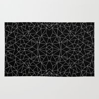 Abstract Collide Outline… Rug