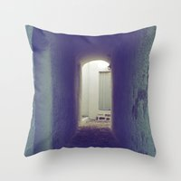 Light at the end of the tunnel II Throw Pillow
