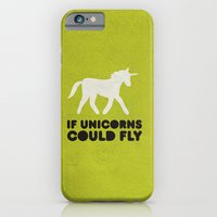 If Unicorns Could Fly. iPhone 6 Slim Case