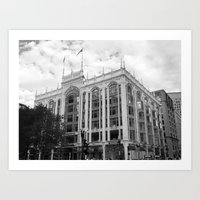 Boston Building Art Print