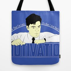 Motivation - Office Space Tote Bag