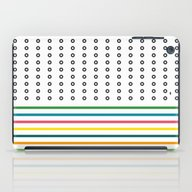 Stripes & Rings iPad Case