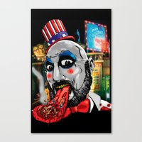 Killer Circus Canvas Print